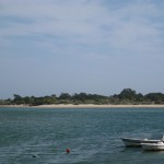 The beach at Tavira