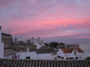 Sunset over Tavira