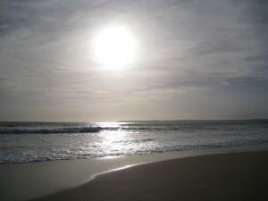 Sun down in Alvor
