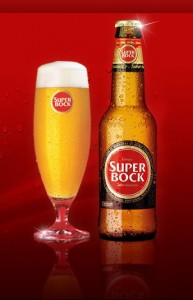 SuperBock - no shortage of this at the moment