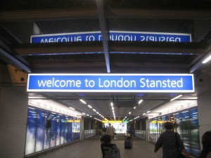 London Stansted - Unpleasant  