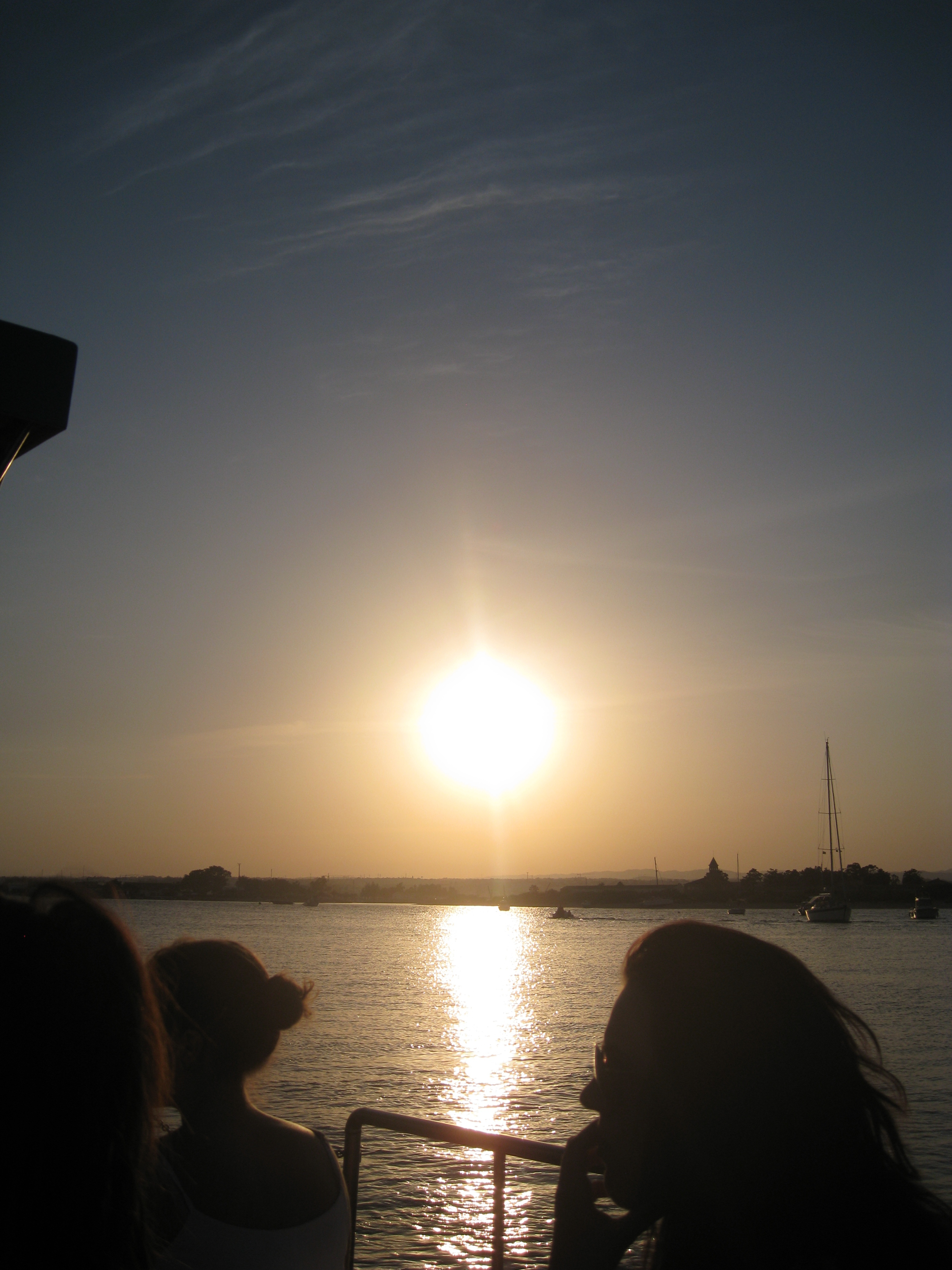 Sunset Boat Back From Isla de Tavira