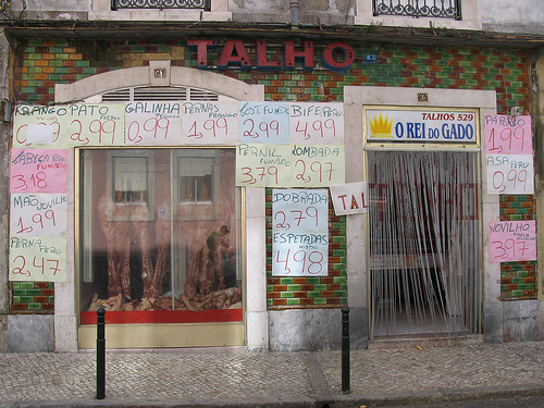 Portugal Shops - Butchers