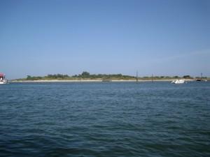 Approaching Isla de Tavira