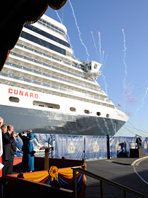 The new Cunard Queen Elizabeth cruise ship