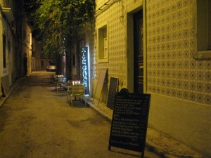Portugal - eating out in the Algarve