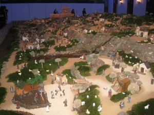 Christmas Model Village in Vila Real de Santo Antonio