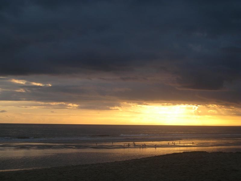Montegordo Sunset, New Year's Day 2011