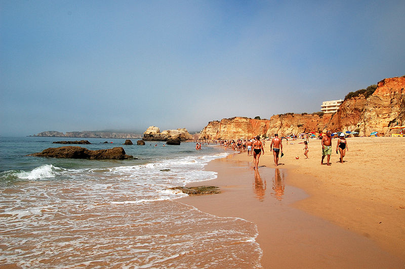Praia da Rocha - The start of our obsessions with Portugal