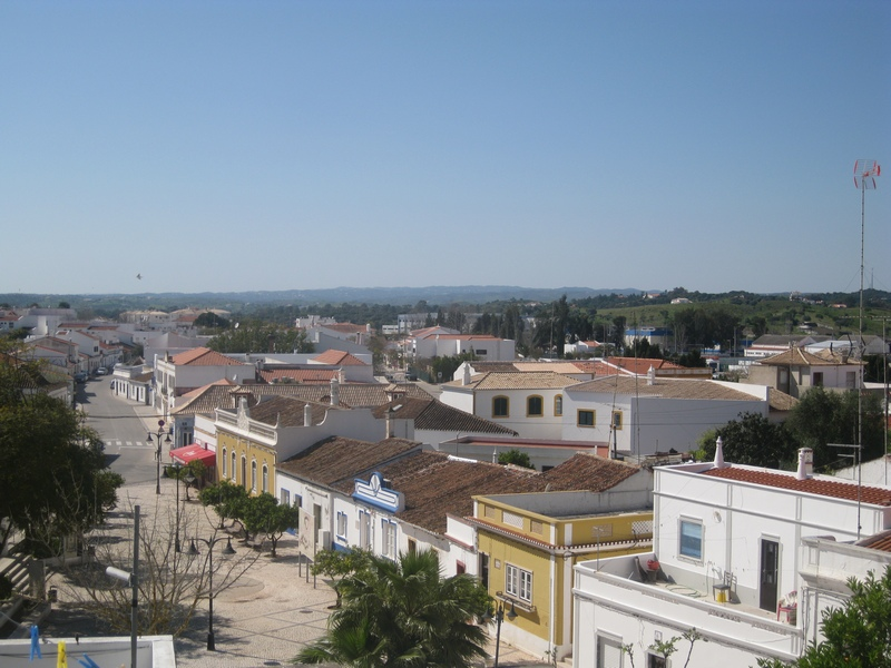 Exploring Portugal - Castro Marim from the Castle