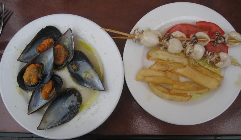 Tapas in Cadiz