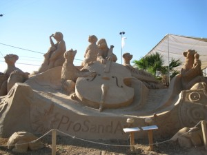 FiESA Sand Sculpture Exhibition