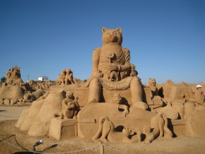 Algarve Sand Sculpture Exhibiton