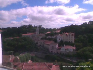 View of Sintra Portugal