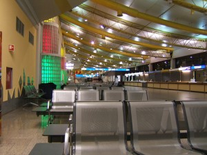 Faro Airport - No longer looks quite like this