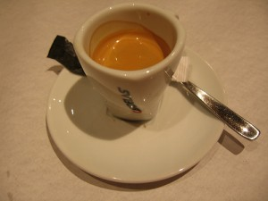 Portuguese Bica Coffee