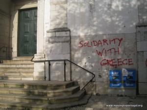 Lisbon Political Graffiti