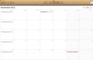Moving Abroad - Don't Expect Your Calendar to Look this Empty
