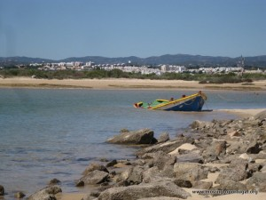 Fishing spot near Tavira Portugal