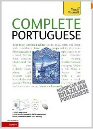 Learn Portuguese as Quickly as Possible