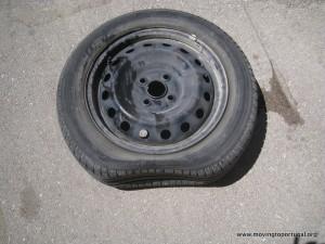 Unfortunate flat tire