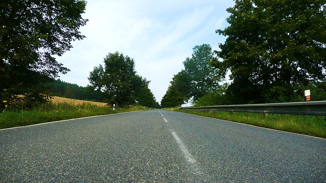Driving in Europe - road