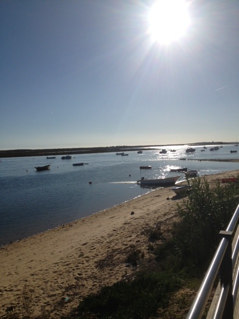 Sunshine on the Ria Formosa