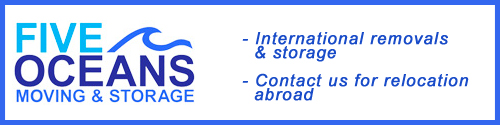 Five Oceans Removals - International Removals