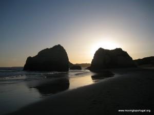 Praia da Rocha - the rocks for which the beach was named
