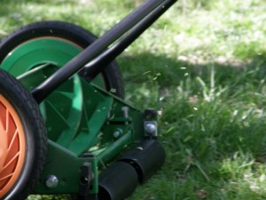 Grass cutting - the sound and smell of summer in England