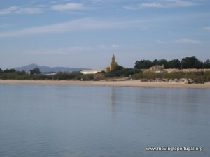 The secret beach at Forte de Rato