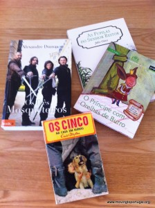 Portuguese language learning - from children's books to classics