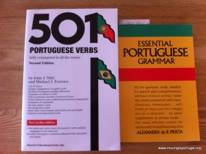 Portuguese language learning - my two essential grammar books