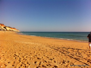 Living in Portugal - sun-kissed sands