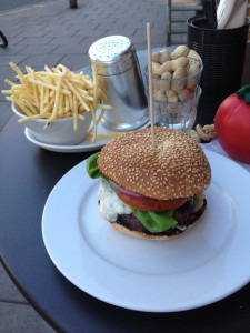 Gourmet burgers in London