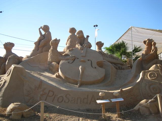Algarve Festival – FiESA Sand Sculptures