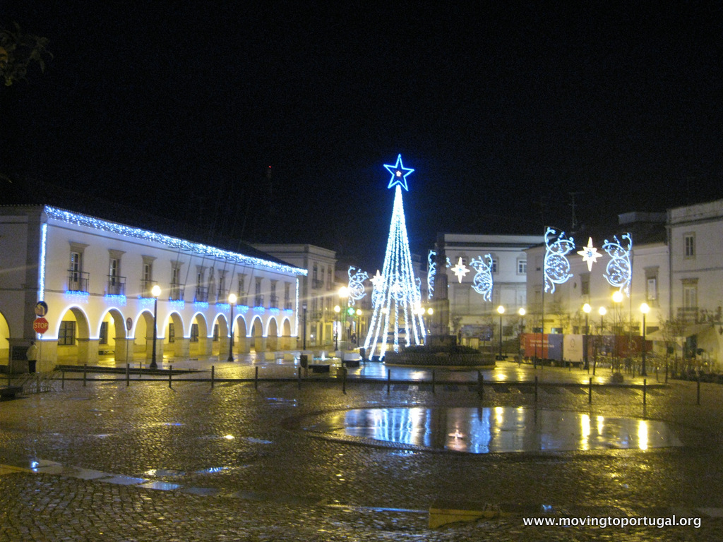 Christmas in Portugal: Vila Real de Santo Antonio